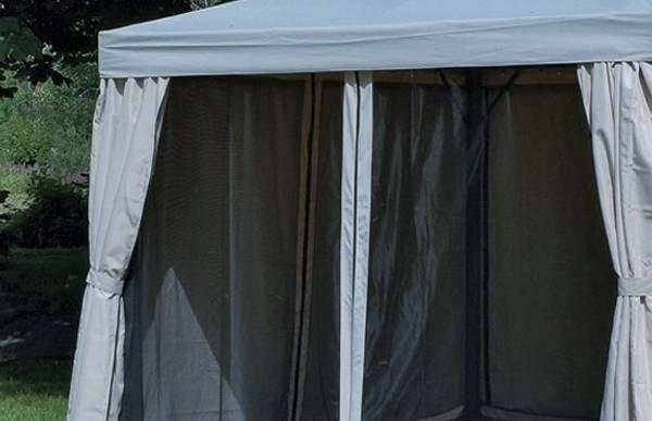Bilde av Support myggnett sett til 3x3 m paviljong - grå