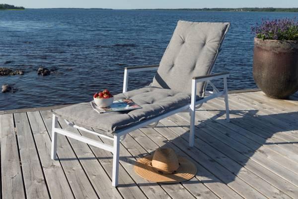 Bilde av Sanna solsengpute - design Melangegrå