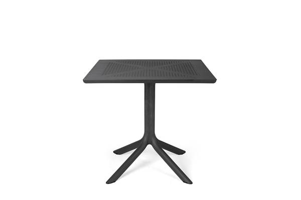 Bilde av Nardi Clip spisebord 80x80 cm - antrasittgrå