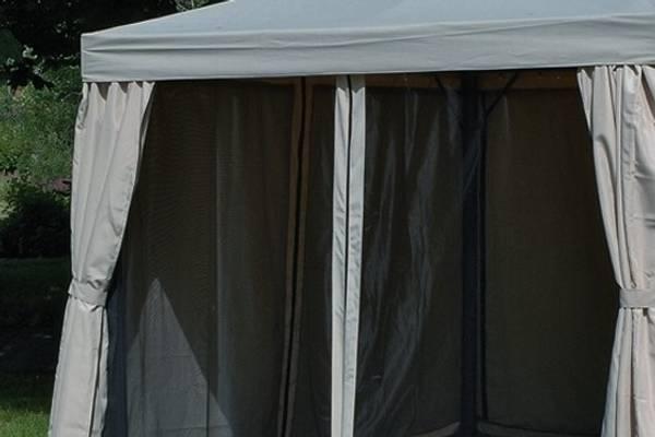 Bilde av Luna myggnett sett til 3x3 m paviljong - grå
