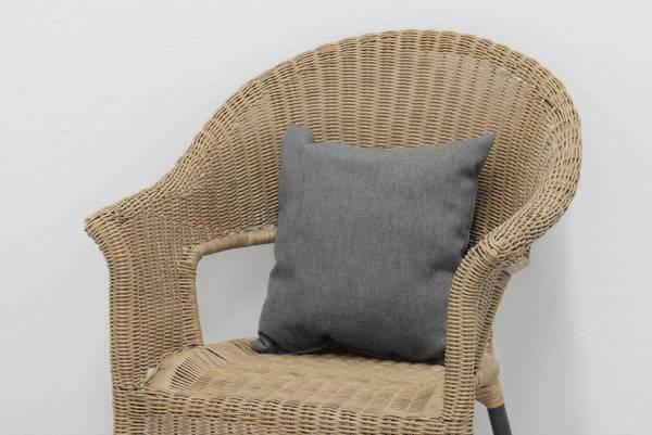 Bilde av Nora pyntepute 40x40cm - design Røkgrå