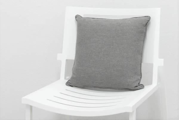Bilde av Cita pyntepute 45x45 cm - design Stengrå