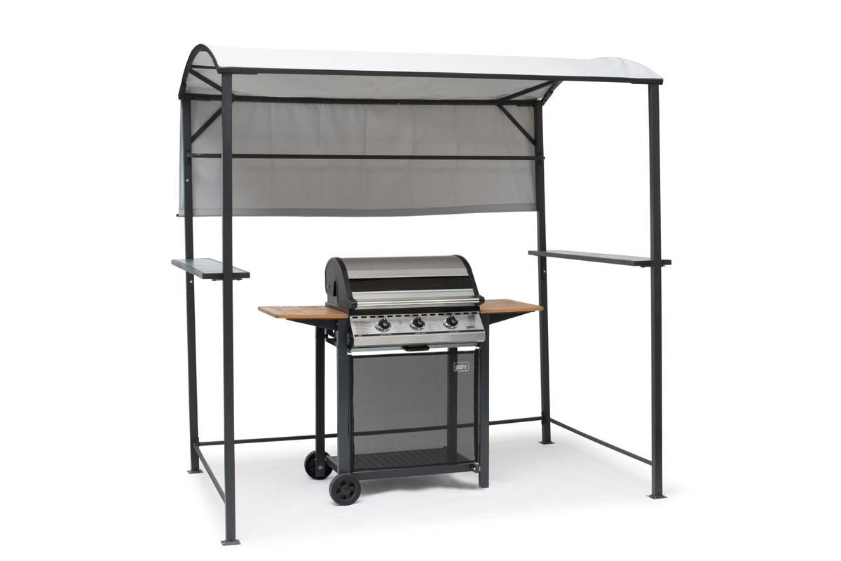 Hillerstorp BBQ grilltelt - lys grå