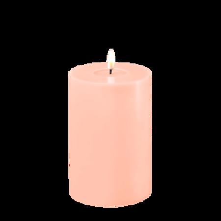 Lys rosa kubbelys 10 x 15 cm