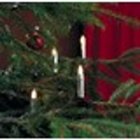 Juletrebelysning sølv 20 stk