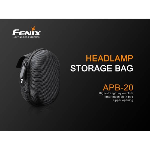 Fenix oppbevaringsbag for hodelykt APB20