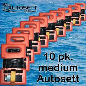 Bilde av 10 pakning Autosett medium