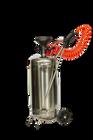 Rustfri 25 Liter pumpekanne