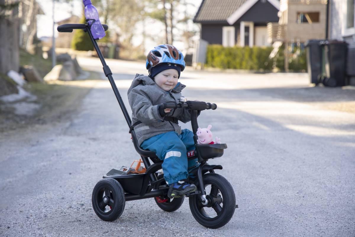 BBsmart Trehjulsykkel m/foreldrestyring