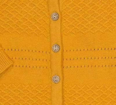 Bilde av MeMini Baby Waffle Cardigan, Apricot Yellow