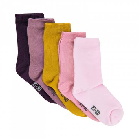 Bilde av Minymo Basic Sokker 5-pk, Jente