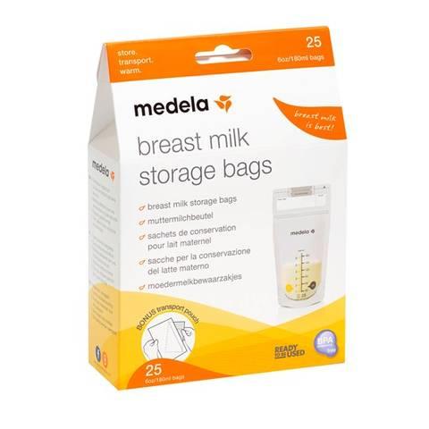 Bilde av Medela oppbevaringspose for brystmelk 25pk