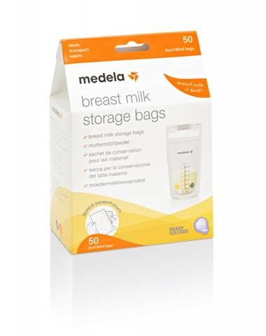 Bilde av Medela oppbevaringspose for brystmelk, 50pk