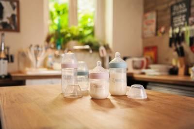 Bilde av NUK Nature Sense 2pk Flaskesmokk