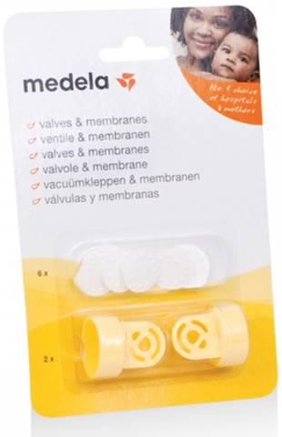 Bilde av Medela ventiler + membran retail 2pk