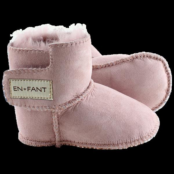 EnFant Sheepskin Bootee, Old Rose