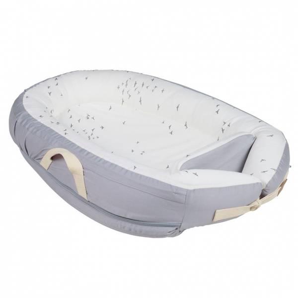 Voksi Baby Nest Premium, Grey Flying