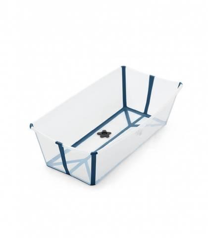 Bilde av Stokke Flexi Bath X-Large, Transparent Blue