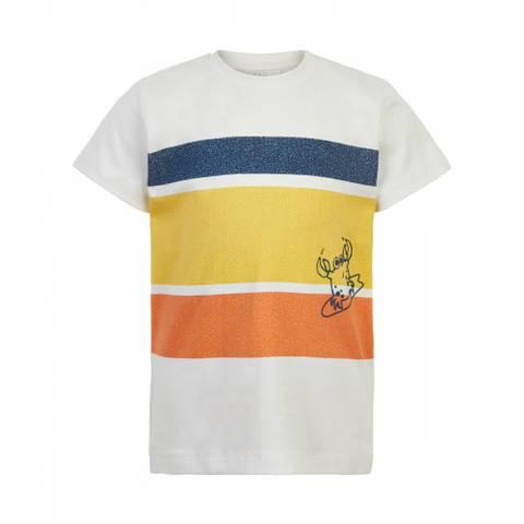 Bilde av Minymo T-Shirt Print, White