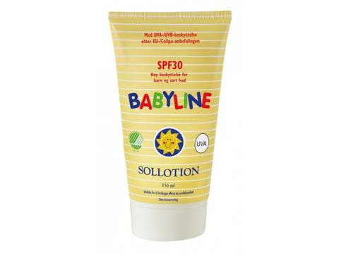 Bilde av Babyline Sollotion SPF30