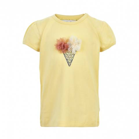 Bilde av Minymo T-Shirt SS Print, Sunlight