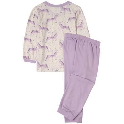 Bilde av Joha Bambus Todelt Pyjamas, lilla tivoli