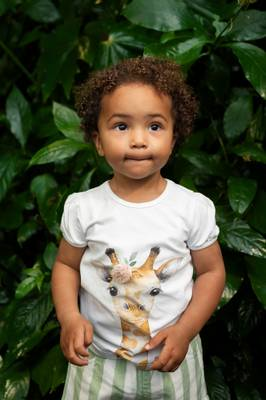 Bilde av Hust&Claire Annielle T-Shirt, White