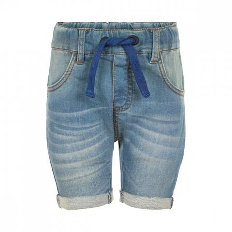 Bilde av Minymo Denim Shorts M/Oppbrett, Midnight Blue