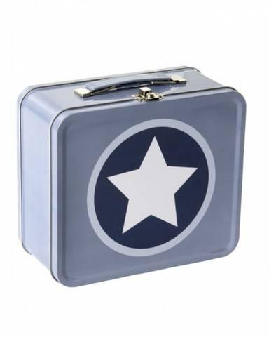Bilde av Smallstuff Metal Suitcase Stars, Navy