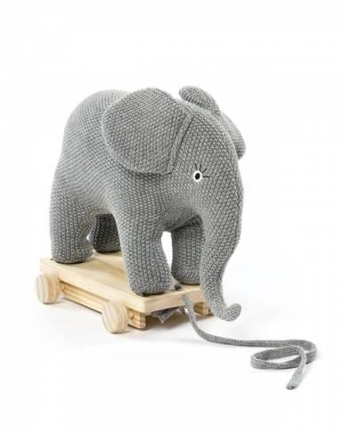 Bilde av Smallstuff Pull Along Elefant