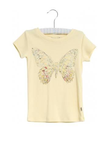 Bilde av Wheat T-Skjorte Butterfly, Lemon Curd
