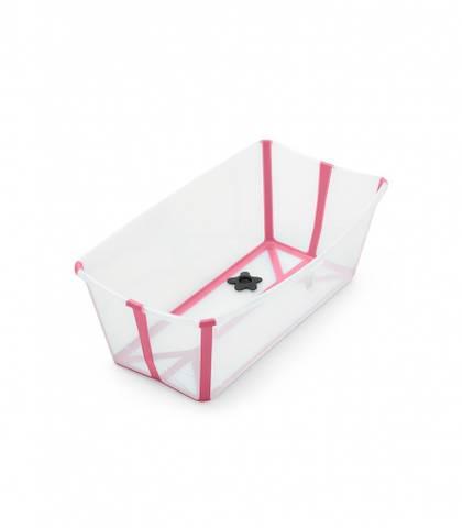 Bilde av Stokke Flexi Bath, Transparent Pink
