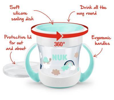 Bilde av NUK Evolution Mini Magic Cup, Mint