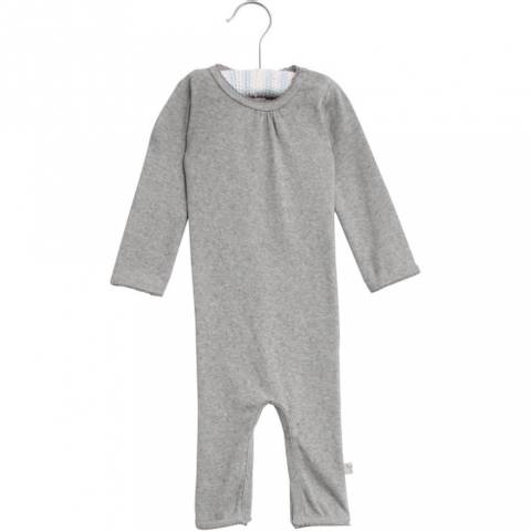 Bilde av Wheat Jumpsuit Gatherings Picoting, Melange Grey