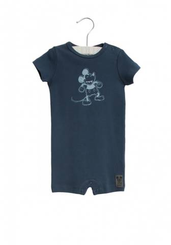 Bilde av Wheat Jumpsuit Happy Mickey SS, Indigo
