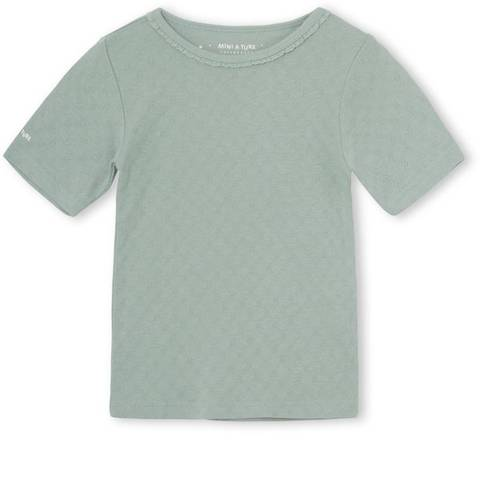 Bilde av Mini A Ture Nona T-Shirt, Blue Surf