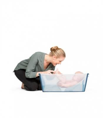Bilde av Stokke Flexi Bath Bundle Pack, Transparent Blue