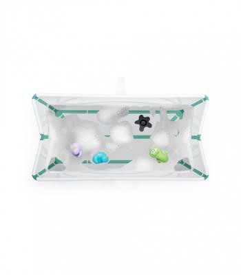 Bilde av Stokke Flexi Bath Bundle Pack, White Aqua