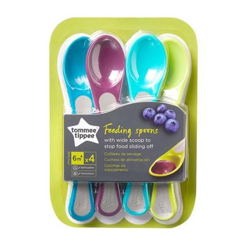 Bilde av Explora 4stk Feeding spoon 6mnd+
