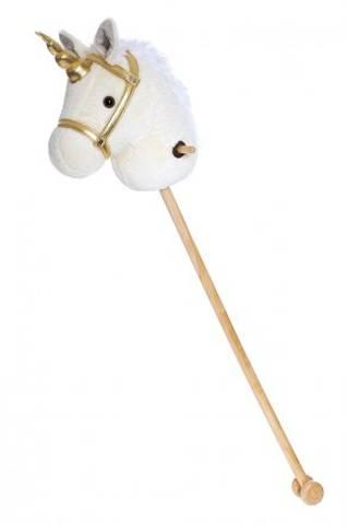 Bilde av Teddykompaniet Kjepphest m/Hjul og Lyd, Unicorn