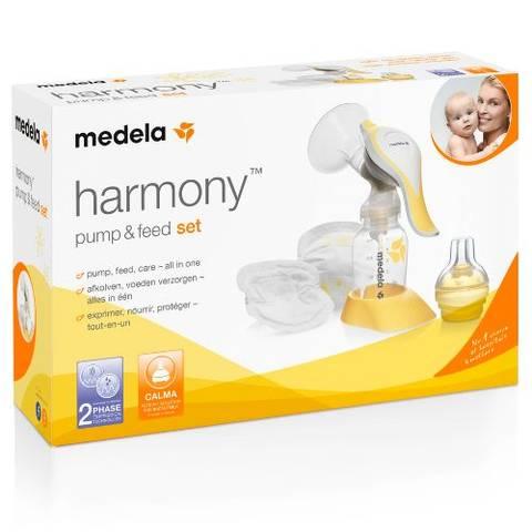 Bilde av Medela Harmony Brystpumpe, Pump&Feed Set