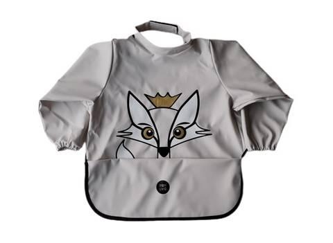 Image of Long sleeve bib - Fox Rainy Day