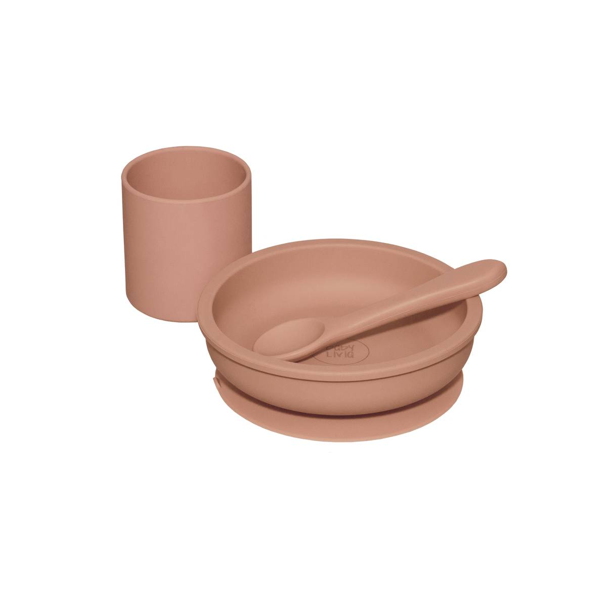 Silicone Bowl Muted Clay