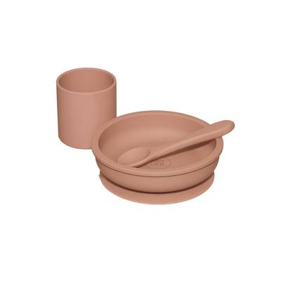 Image of Silicone Bowl Muted Clay