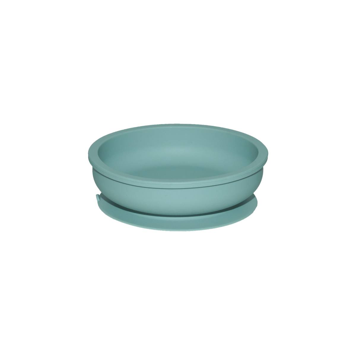 Silicone Bowl Blue Surf