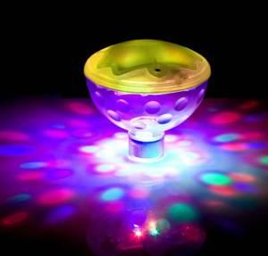 """Bilde av Undervannsbelysning/ lysshow, flytende """"diskoball"""""""