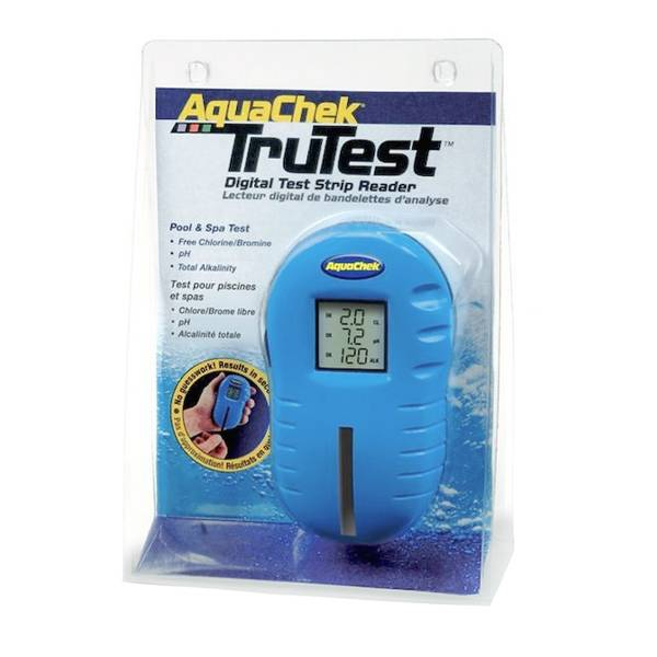 Aquachek Trutester, digital vanntester (klor, pH, Alkal.)