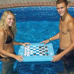 Bilde av Flytende spillbrett, tosidig (sjakk/ dam/ backgammon)