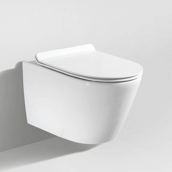 Toalettpakke: Badnor Ravenna / Grohe Rapid SL m/ hvit betj. plat