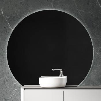 Bilde av Speil med belysning